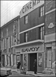 Cinéma Le Savoy, rue Anatole France. Collection Sylvie Clément-Gauthier